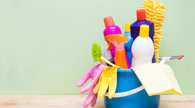 List of Cleaning Disinfectants from the CDC