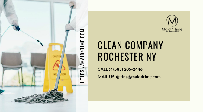 A Few Characteristics of the Professional Cleaners in Rochester NY